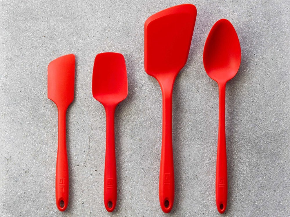 Ultimate Silicone Kitchen Tools 4-Piece Set