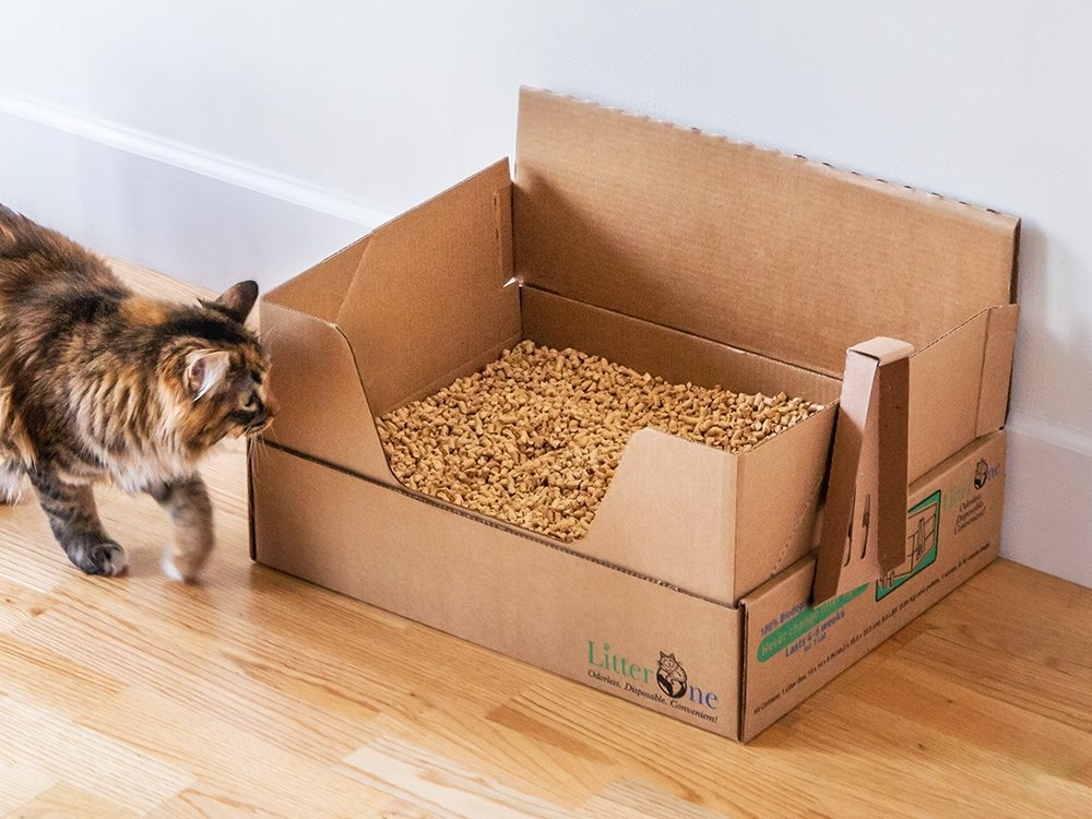 Self-Contained Natural Cat Litter