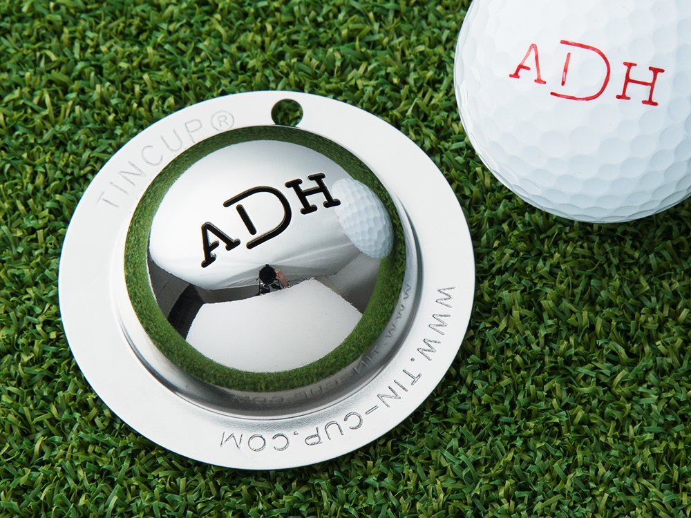Custom Monogram Golf Ball Marker