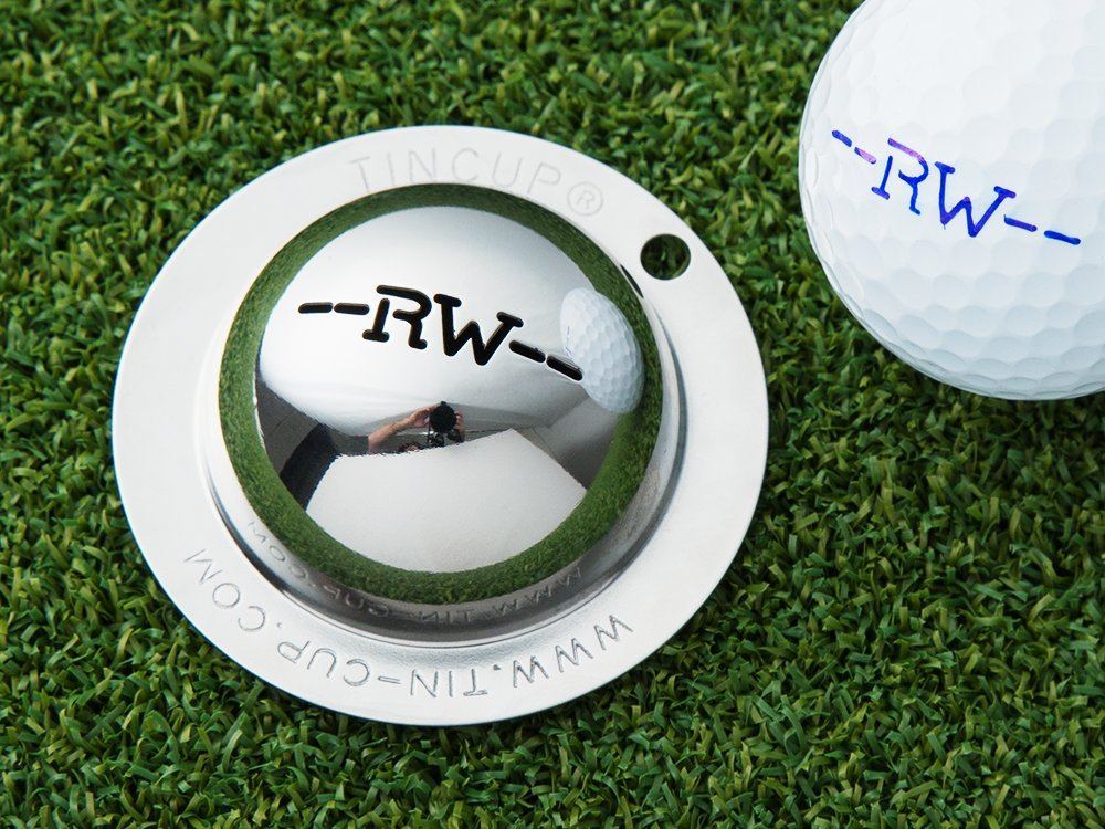 Custom Initial Golf Ball Marker