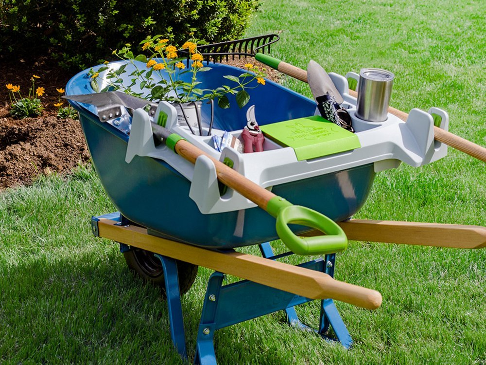 Wheelbarrow Organization Shelf - Small
