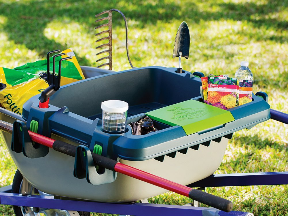 Wheelbarrow Organization Shelf - Large