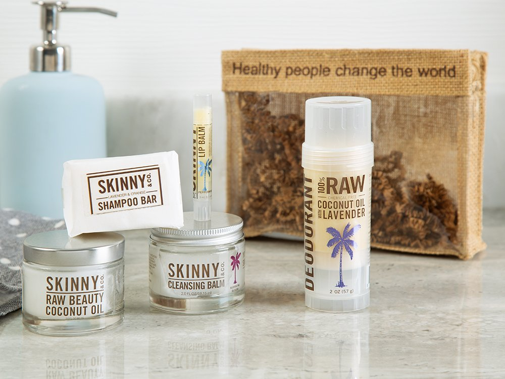 Raw Coconut Oil Beauty Travel Kit