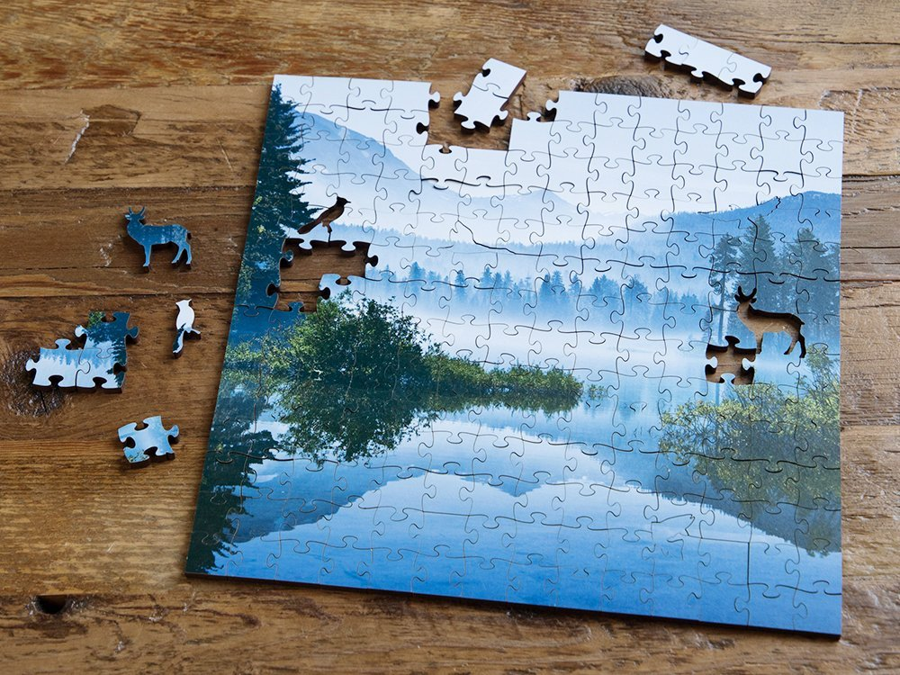 Medium Wooden Jigsaw Puzzle