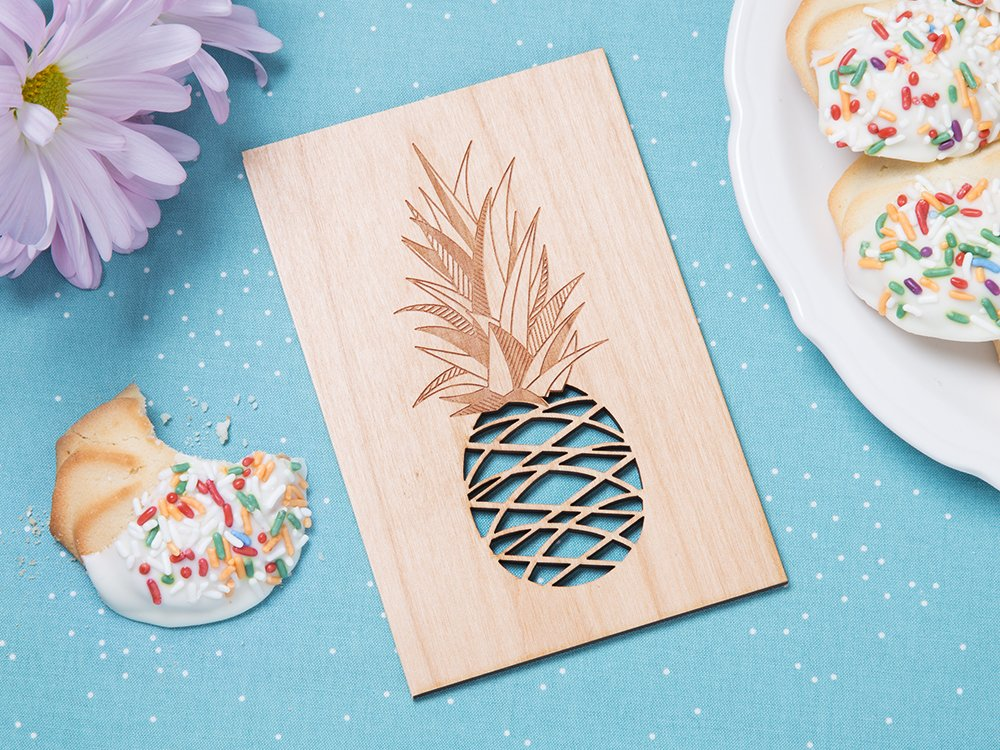 Any Day Laser Cut Card