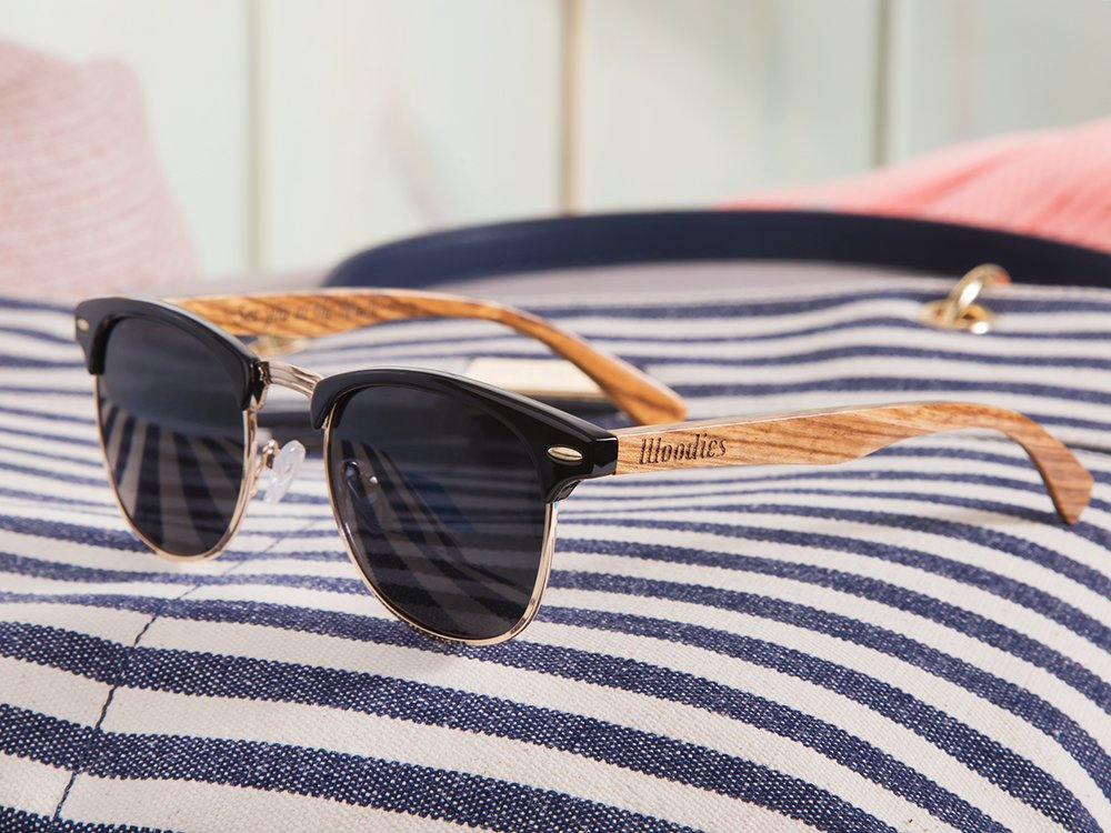 Wooden Browline Sunglasses