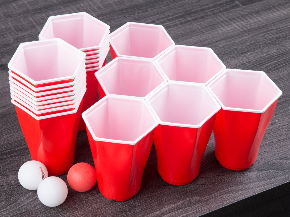 Hexagonal Beer Pong Game