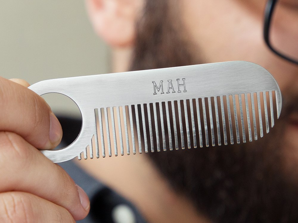 Model No. 2 Stainless Steel Comb