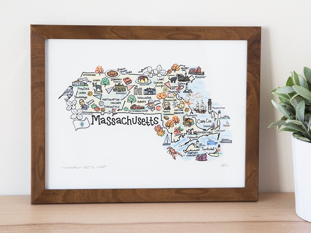 State Map Print
