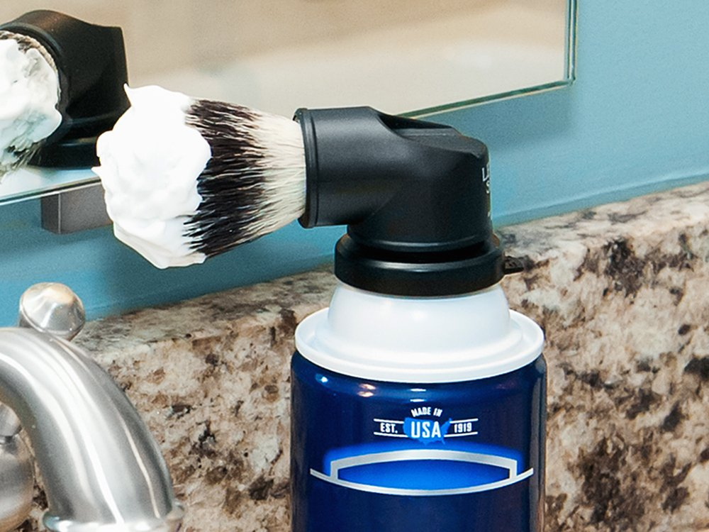 The Evolution Shaving Can Brush