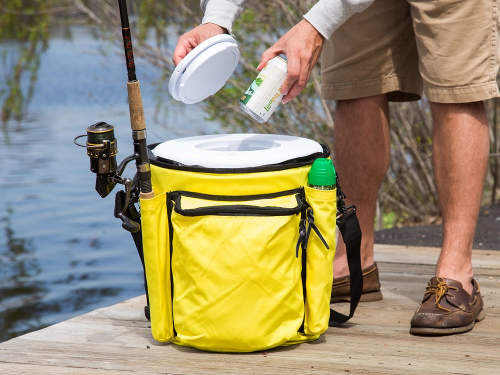 Insulated Bucket Cooler with Lid
