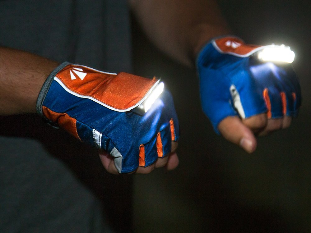 Rechargeable Lighted Gloves