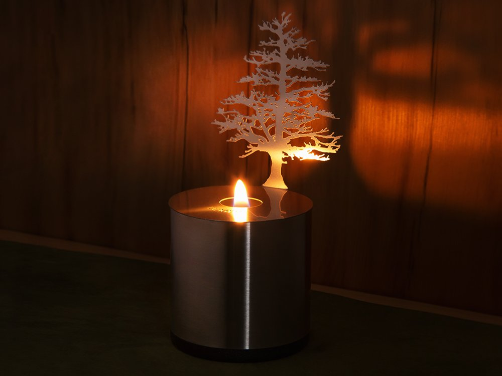 Lumen Candle Shadow Projector