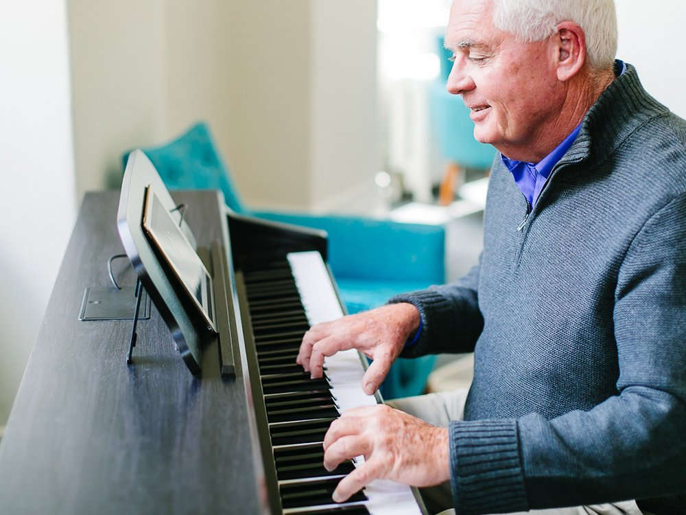 App-Connected Smart Piano