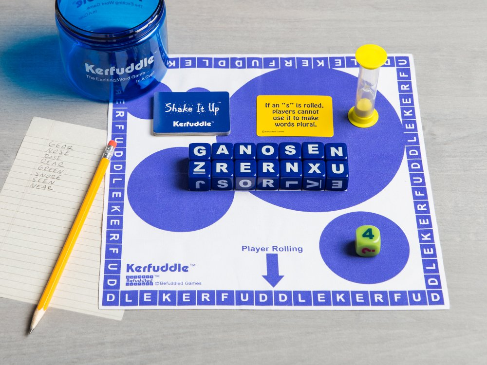 Letter Cube Word Game