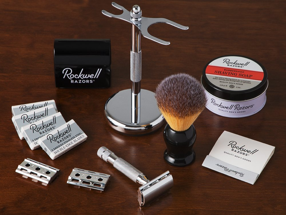 6C Adjustable Safety Razor Gift Set