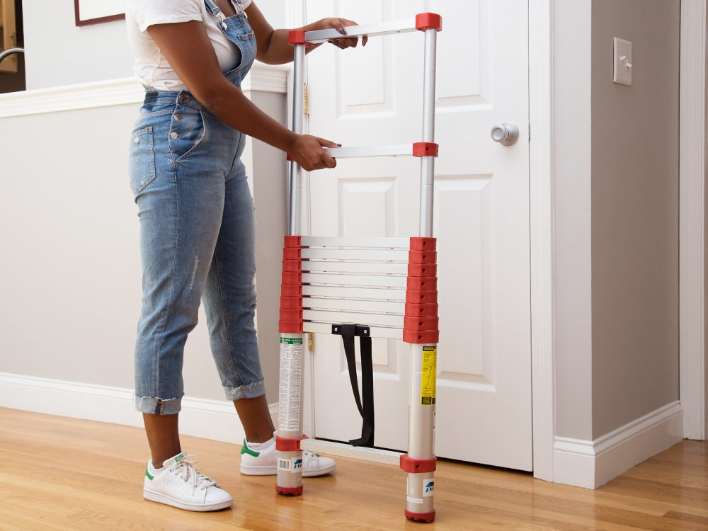 Retractable Telescoping Ladders - Home Series