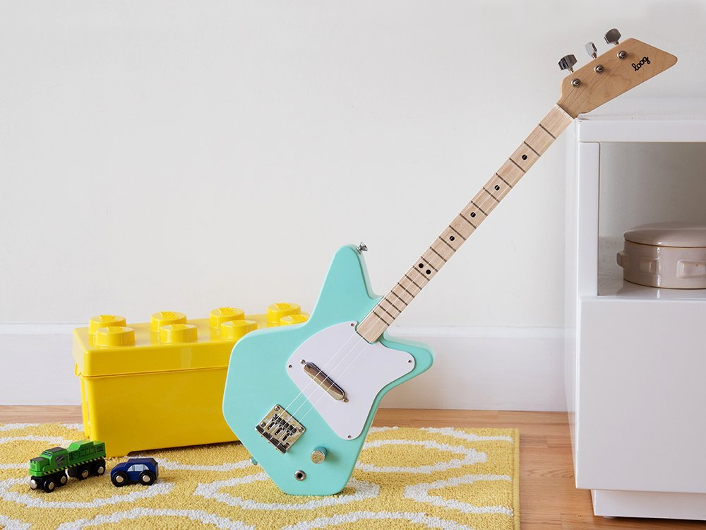 Kids' Three String Electric Guitar