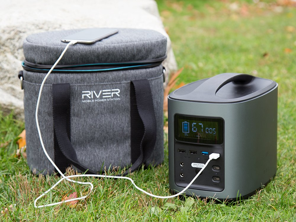 River Mobile Power Station & Case