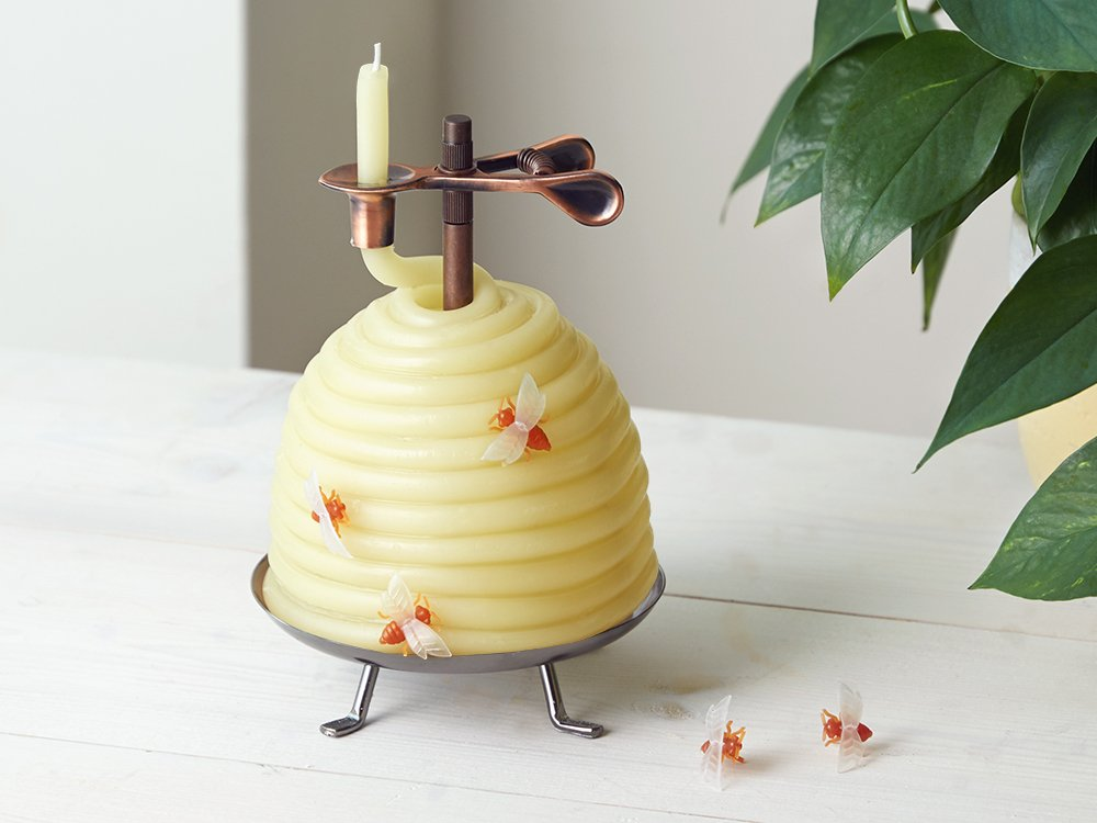Beehive Coil Candle