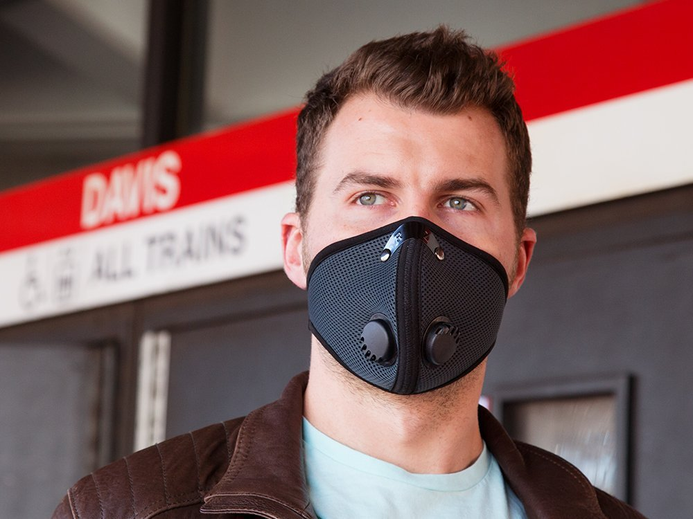 Neoprene & Mesh Reusable Dust Mask