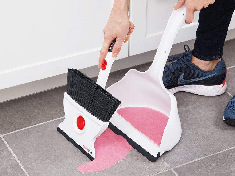 Rotating Wet & Dry Broom and Dustpan