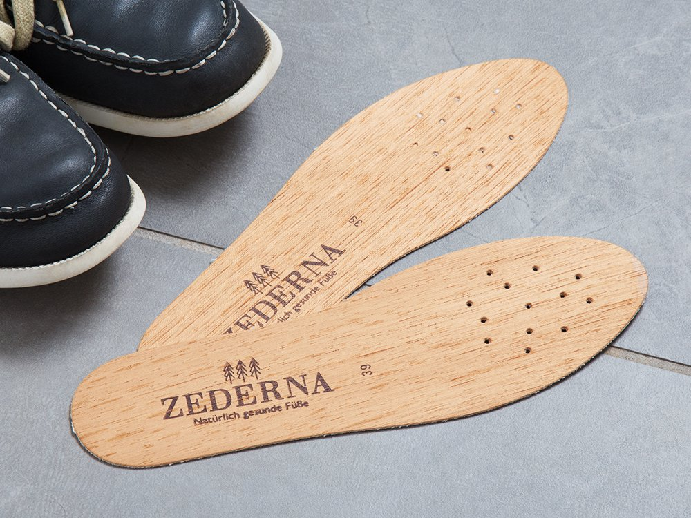 Anti-Odor Cedar Wood Insoles