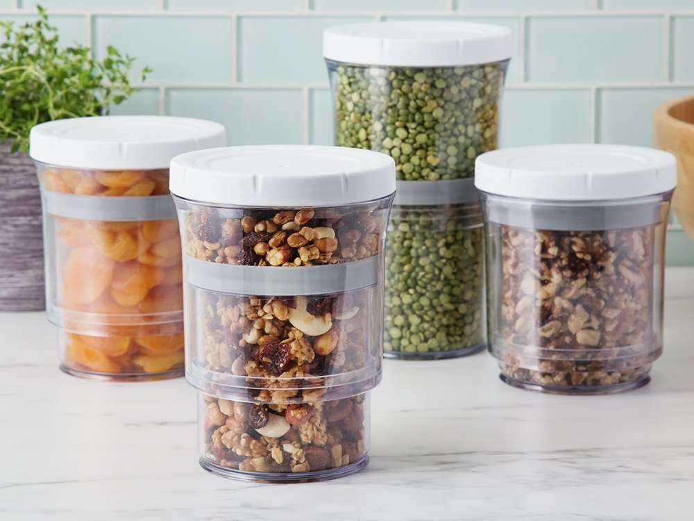 Adjustable Storage Containers - Set of 4