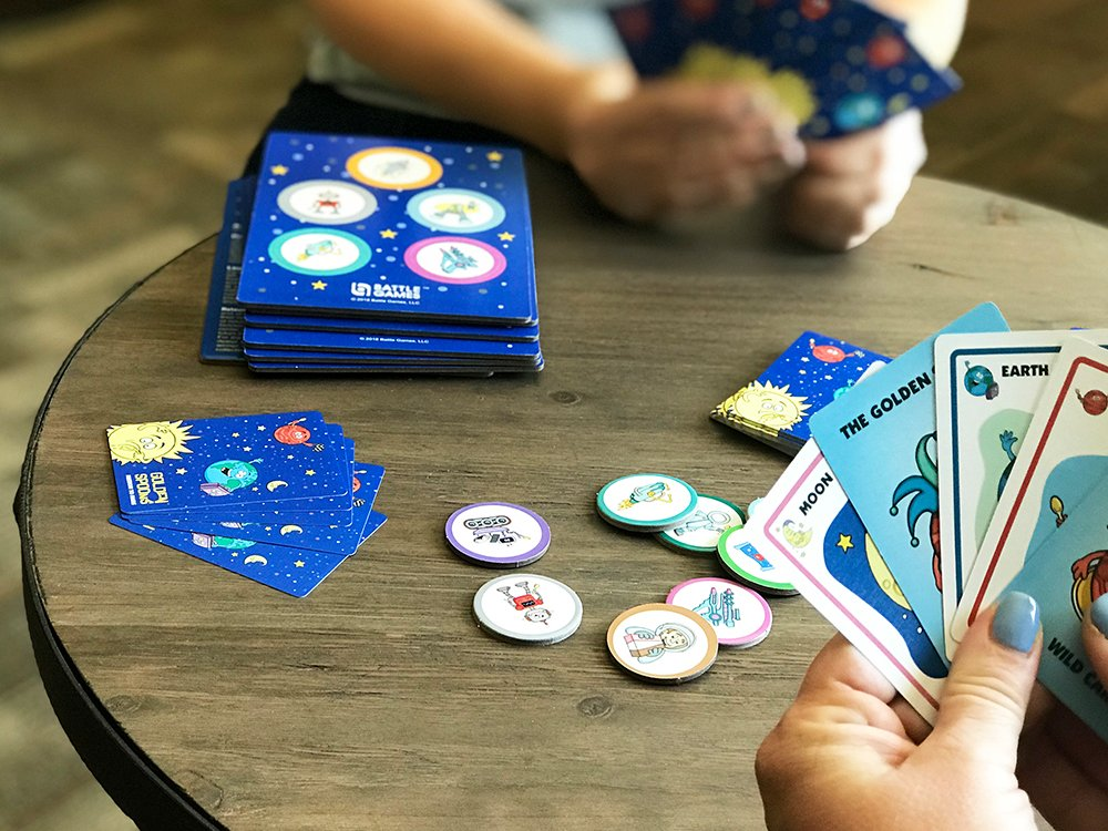 Golden Spoons Mission to Mars Card Game
