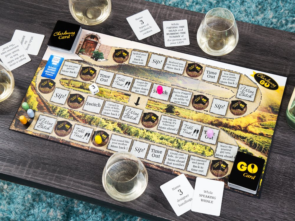 Chardonnay Go Adult Board Game