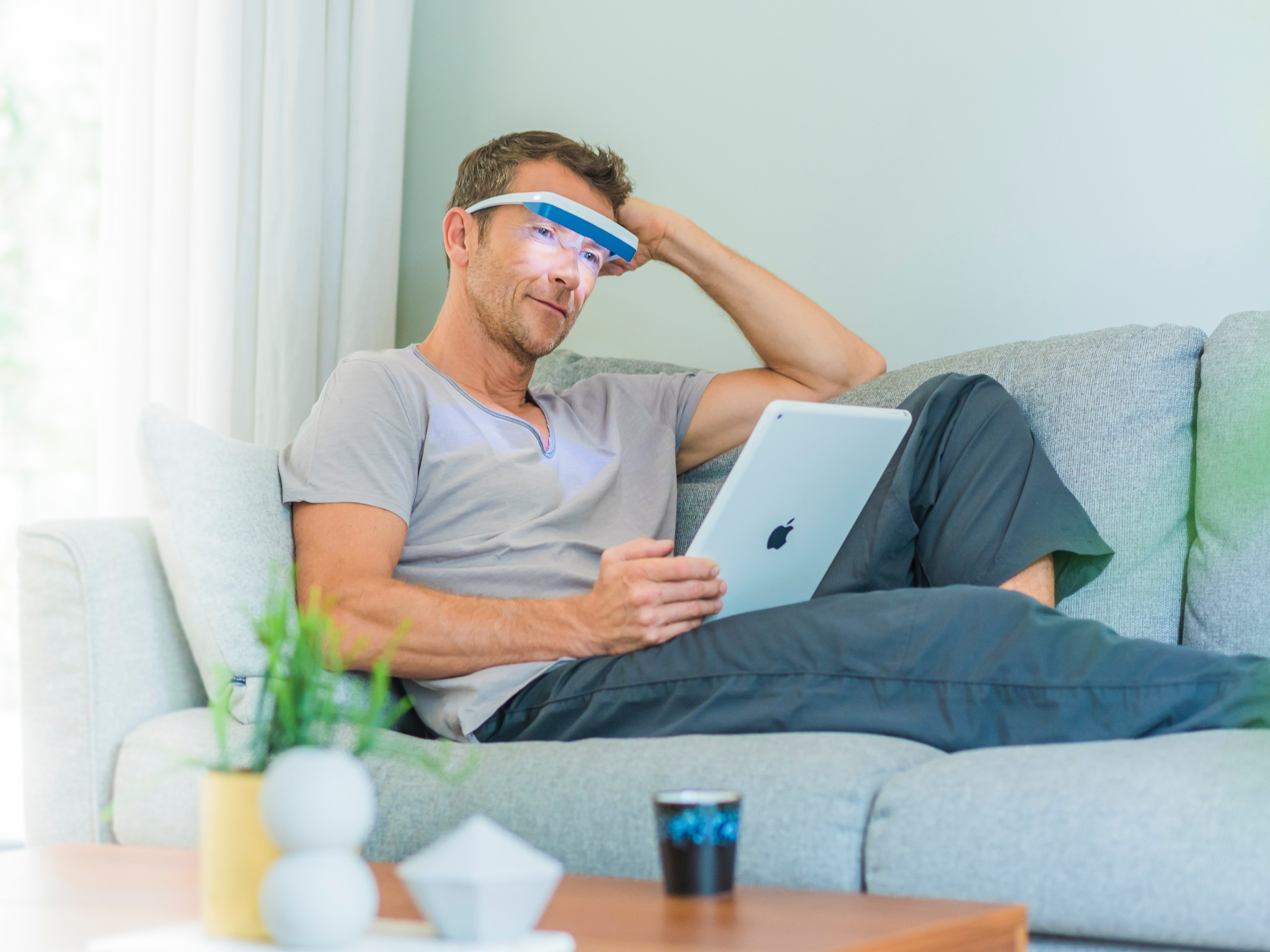 Blue-Enriched White Light Therapy Glasses