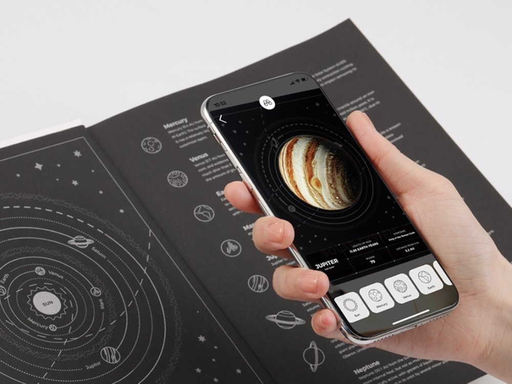NASA Augmented Reality Notebook