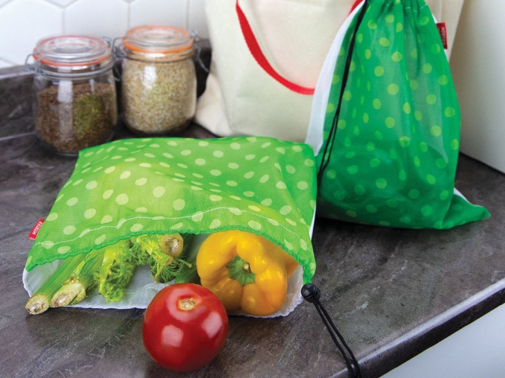 Reusable Produce Bags - Set of 6