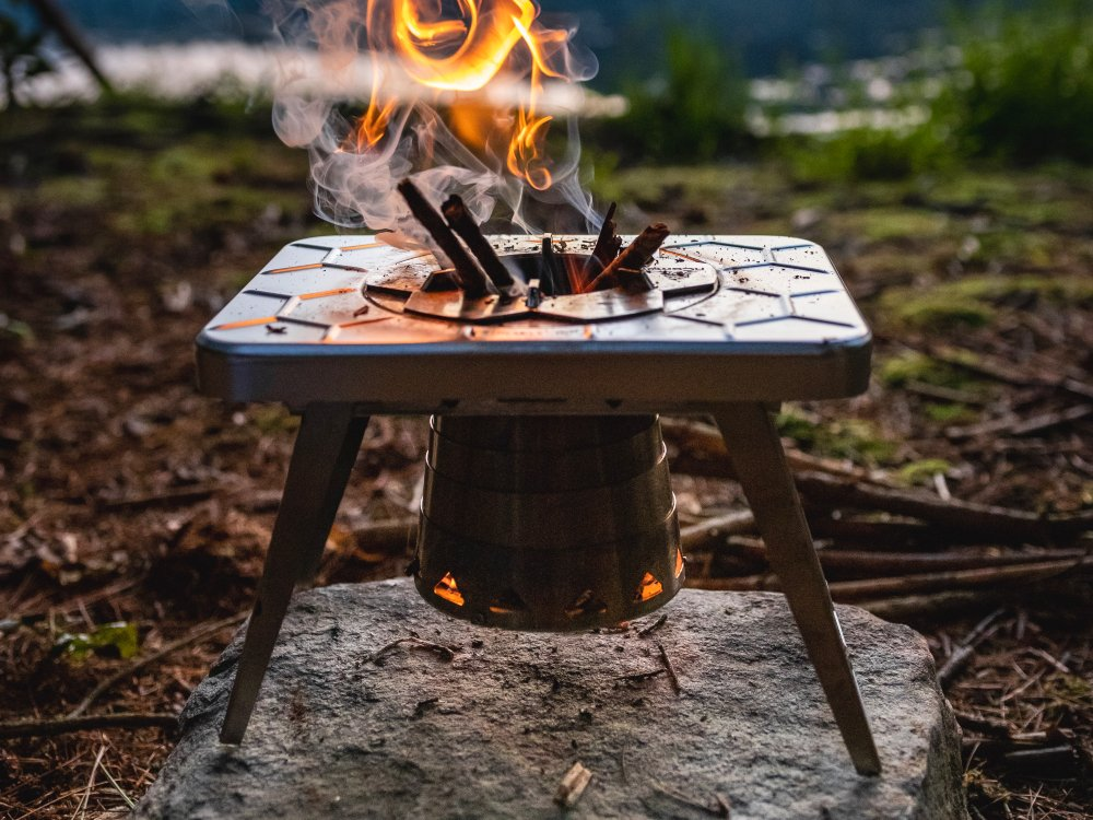 Compact Multi-Fuel Backpacking Stove