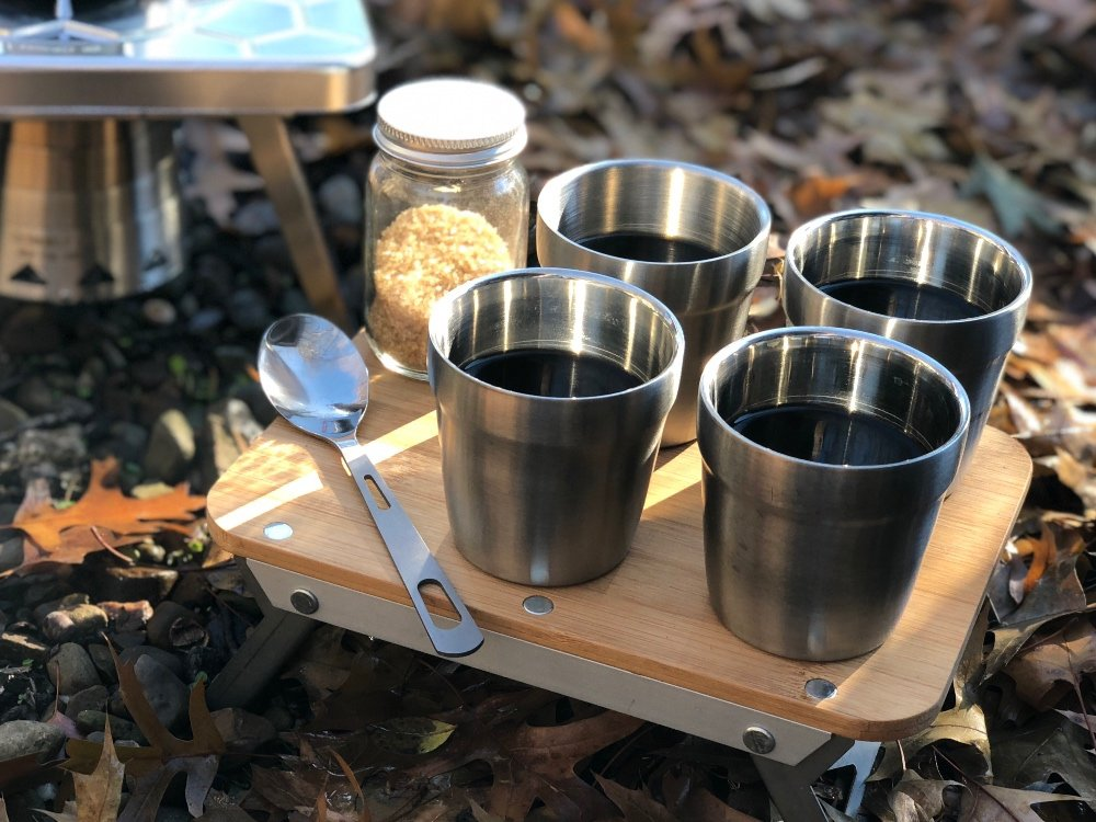 Stainless Steel Camping Cups