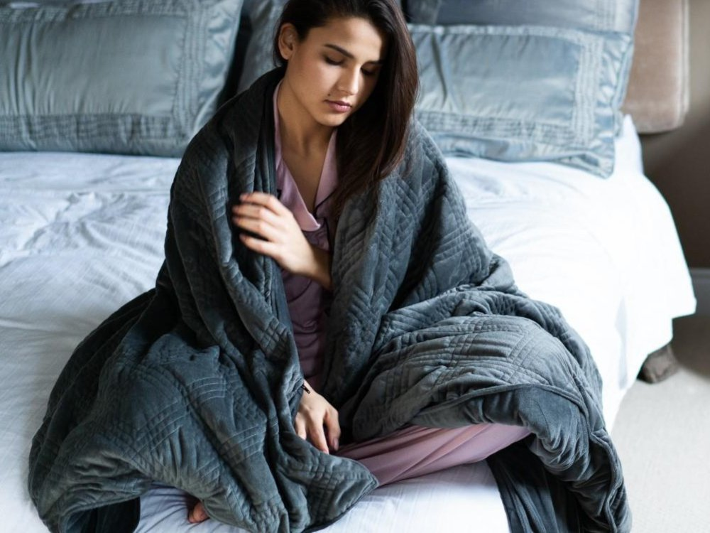 Classic Weighted Blanket with Cover