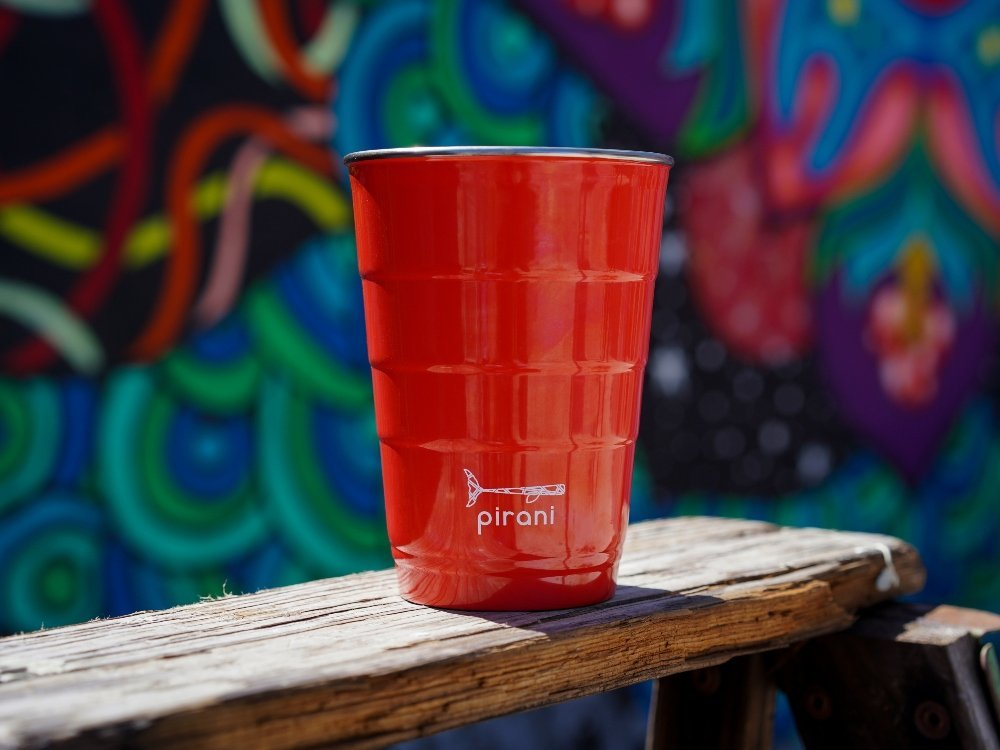 Reusable Party Cup with Lid