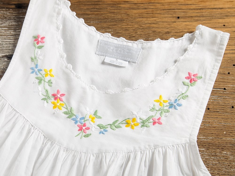 Hand-Embroidered Nightgown