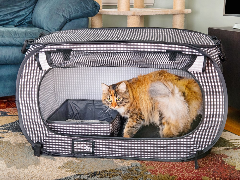 Collapsible Travel Cat Crate