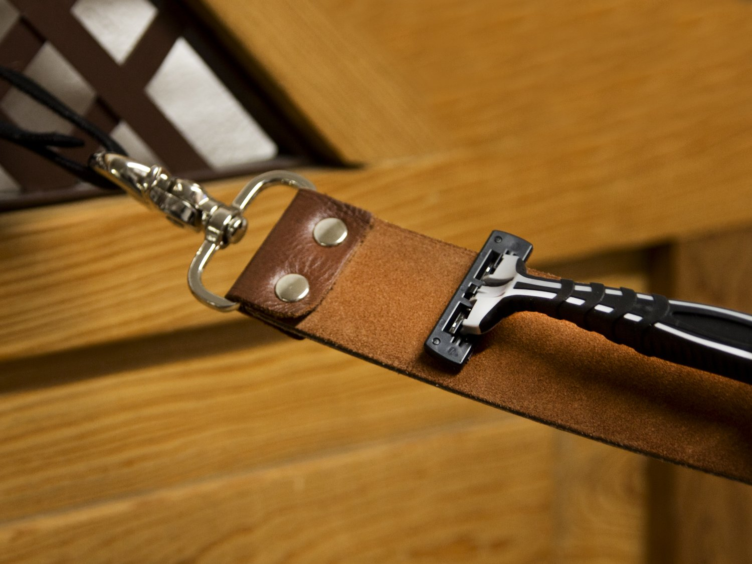 Handcrafted Leather Strop
