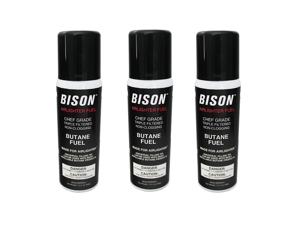 3-Pack Bison Airlighter Fuel