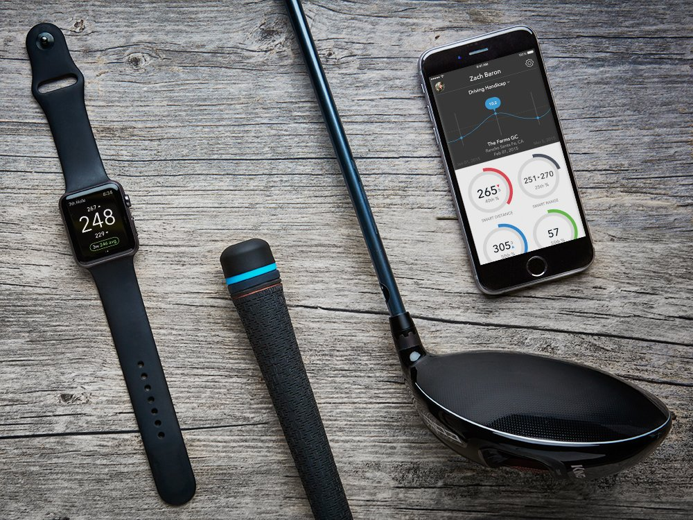 Golf GPS Stat Tracking Driver
