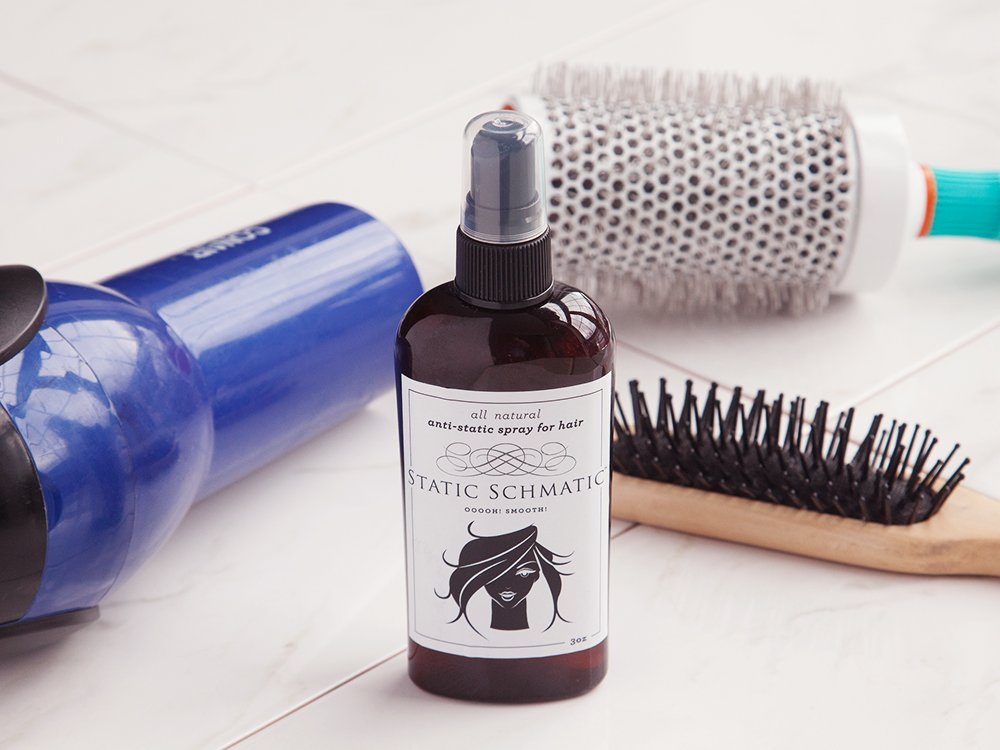 Anti-Static Spray for Hair - Set of 2