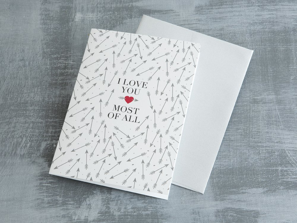 """Most Of All"" Greeting Card"