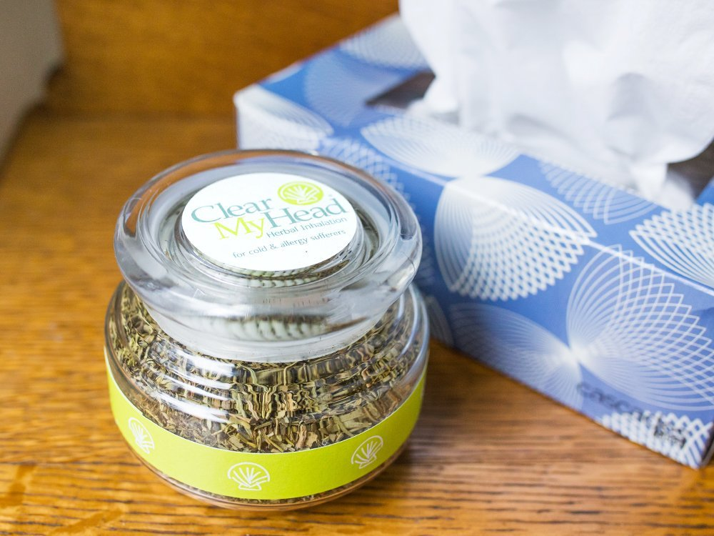 Herbal Inhalation Jar