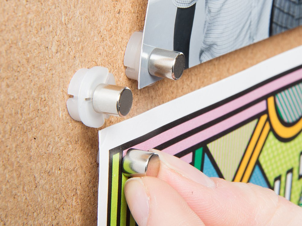 Magnetic Push Pin Hangers